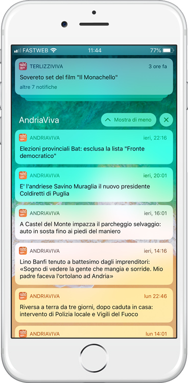 Notifiche push su iOS